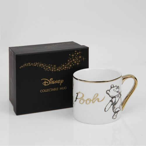 Disney Winne The Pooh Bone China Collectable Mug in Gift Box - POOH